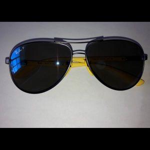 Scuderia Ferrari Aviator Sunglasses